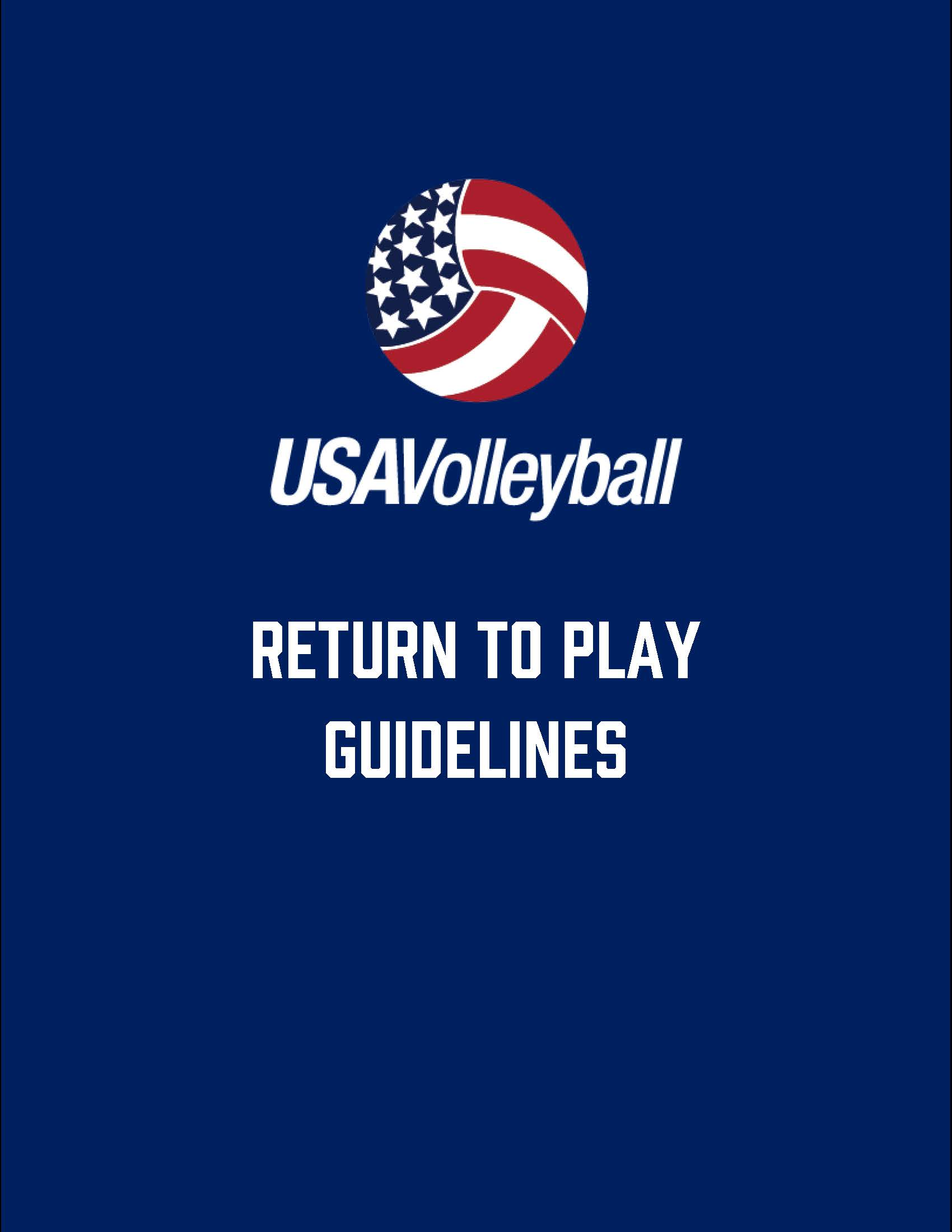Pages from USA Volleyball Return to Play Guidelines - Nov 2020 Cover