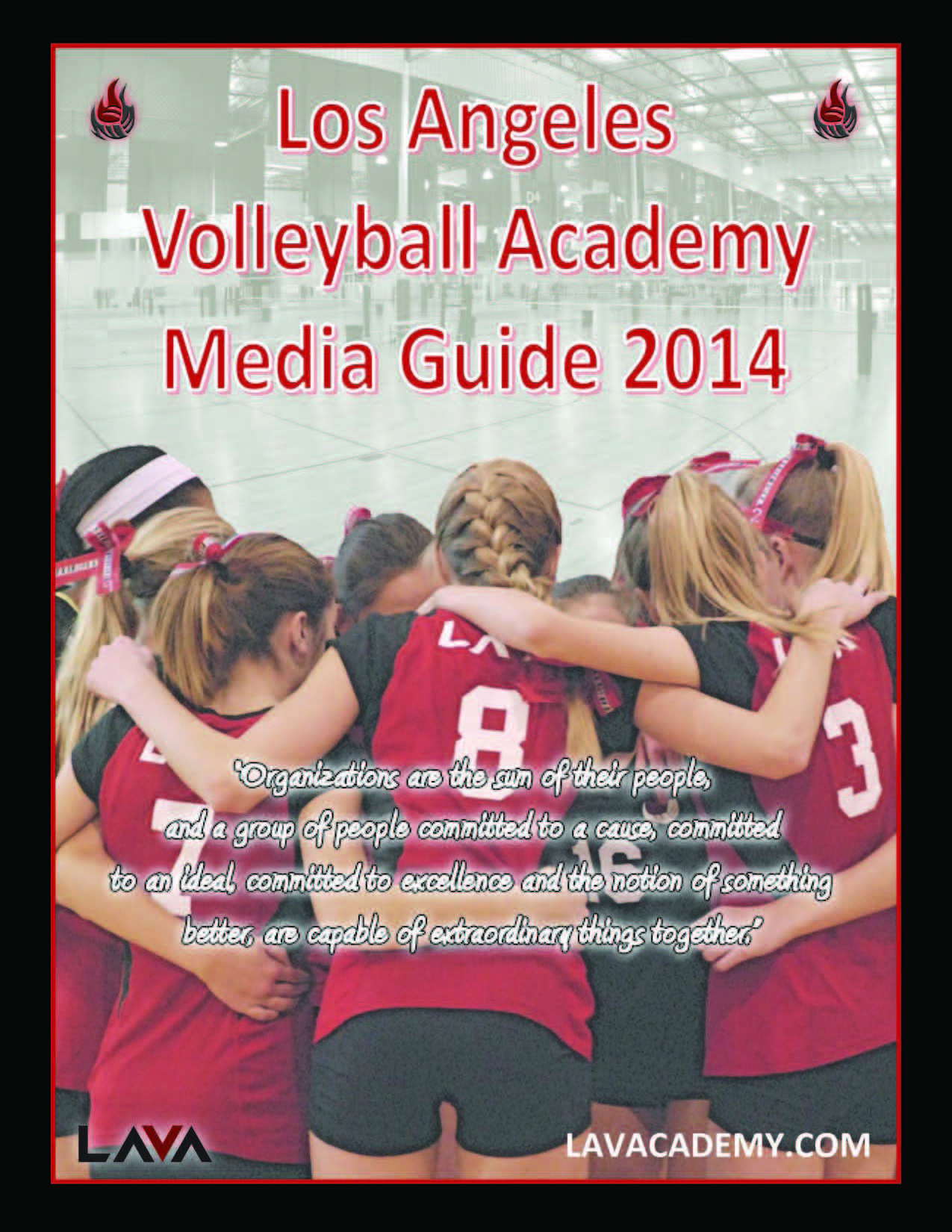 LAVA Media Guide 2014 - Cover