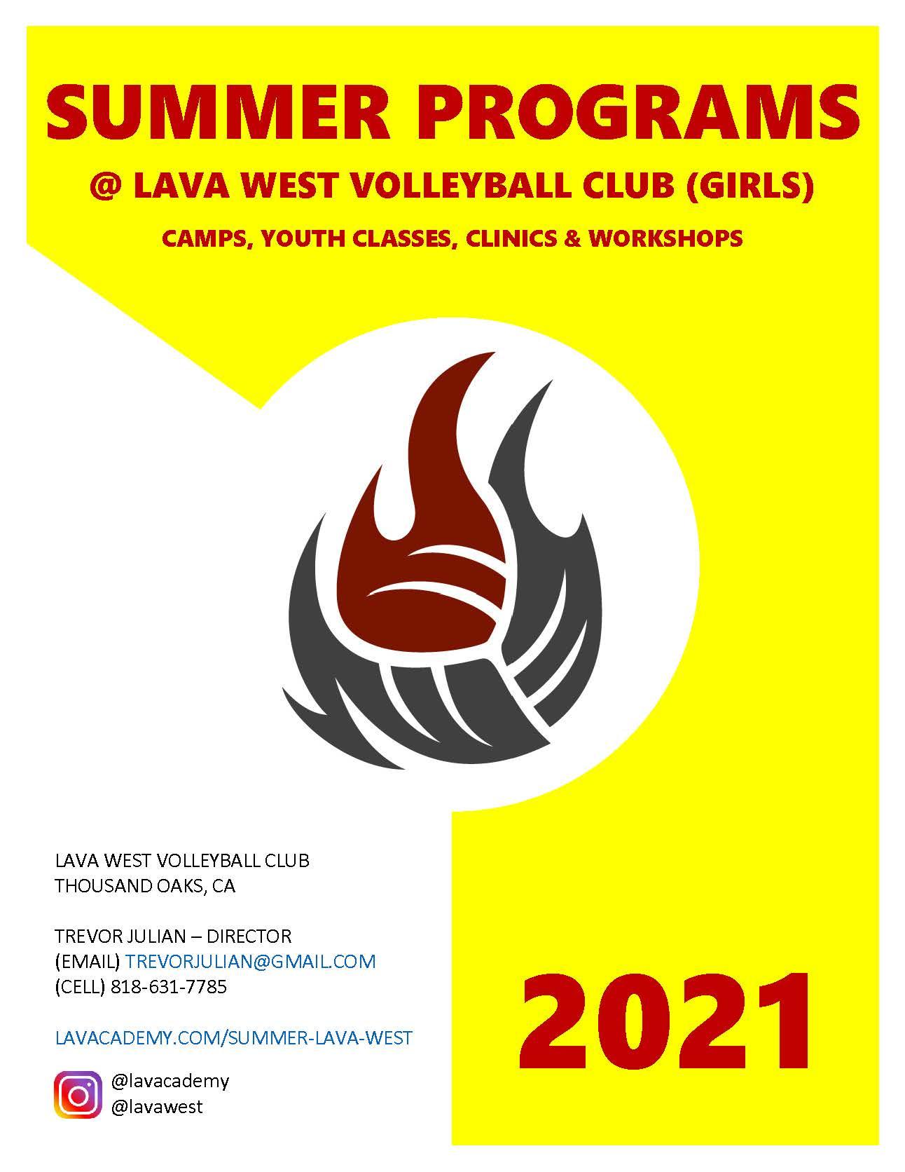 Program Guide - Summer 2021 - Lava West - 00 cover