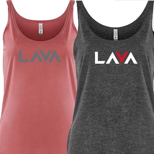 Merch - Women's Tank Top - 2 Colors - Lava Logo